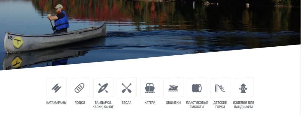 Заказать Производство водного спортивно- прогулочного транспорта : катеров, байдарок, каное, лодок и др.