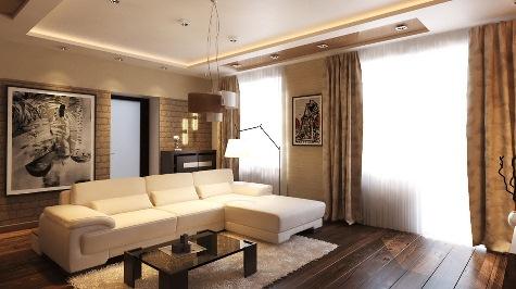 Заказать Дизайн интерьера квартиры, дома, 3D визуализация, чертежи. Днепр и Украина