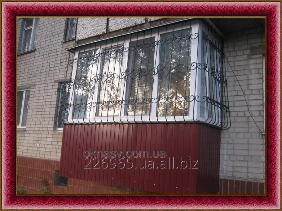 Заказать Балкон первый этаж. Пристройка балкона. Строительство балкона.