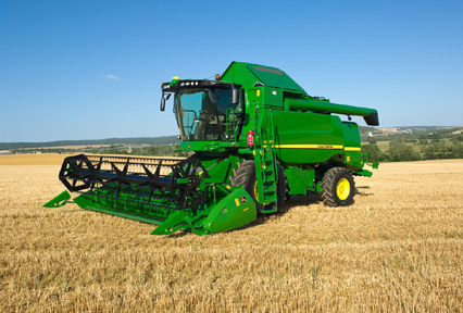 Аренда комбайнов Claas Lexion, John-Deere, New Holland, Case.