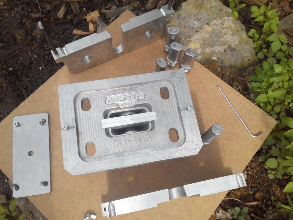 Заказать Изготовление пресс-форм для литья по выплавляемым моделям (ЛВМ)
