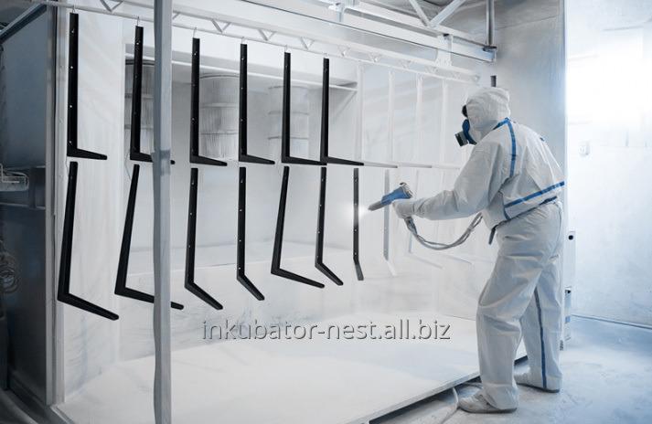 Заказать Порошковая покраска металлических изделий