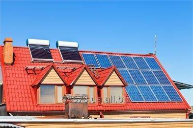 Заказать Установка солнечного и ветро- электроснабжения
