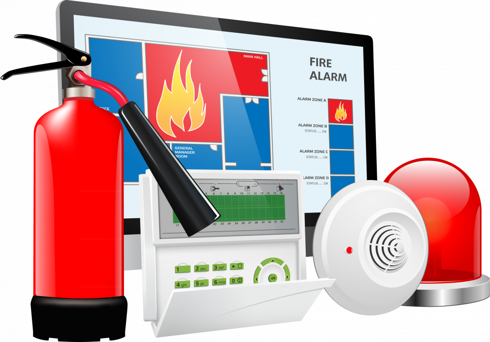 Картинки по запросу пожарной сигнализации