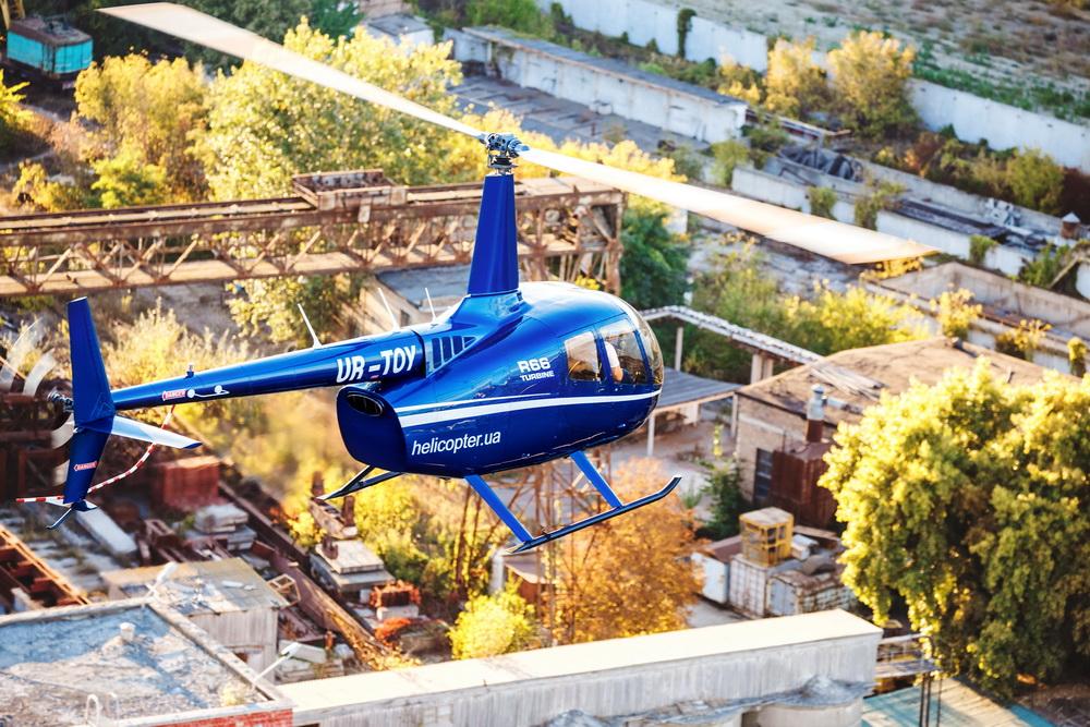 Заказать Полет в Чернобыль на вертолете Robinson R66/ Chernobyl flight with helicopter Robinson R66