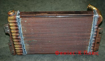 Заказать Ремонт радиаторов охлаждения для погрузчиков