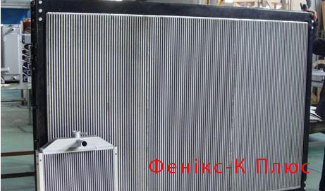 Заказать Ремонт радиаторов охлаждения для автобусов