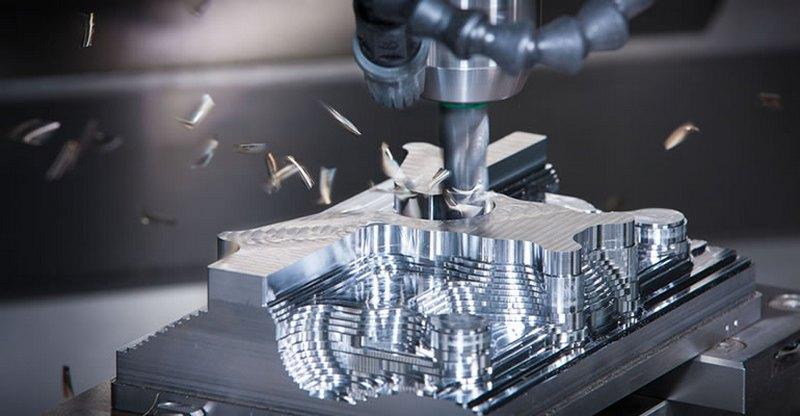 Механическая обработка заготовок на высокоточных фрезерных станках