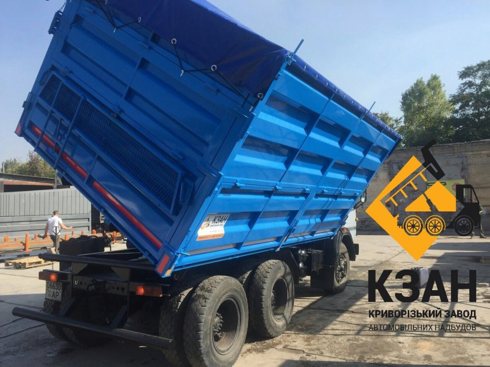 Заказать Переоборудование тягача КамАЗ в САМОСВАЛ зерновоз.
