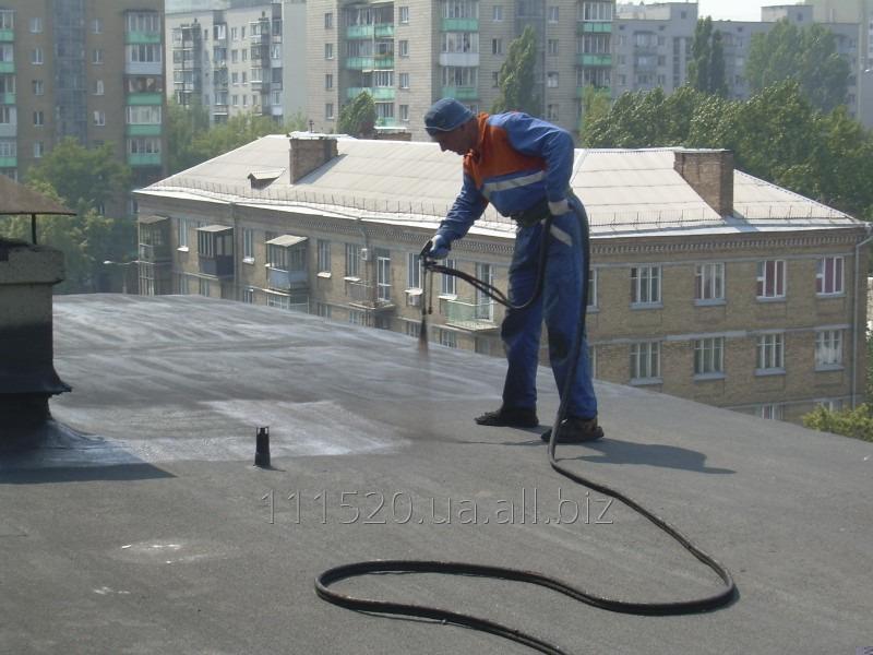 Заказать Услуги гидроизоляции бесшовным резиновым,и жароотражающим теплоизоляционным покрытием.