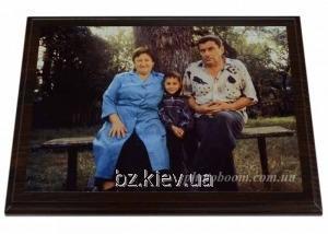 Нанесение на металл семейных автопортретов