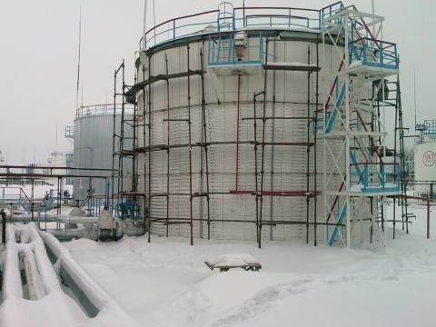 Заказать Проектирование и монтаж систем кабельного обогрева резервуаров