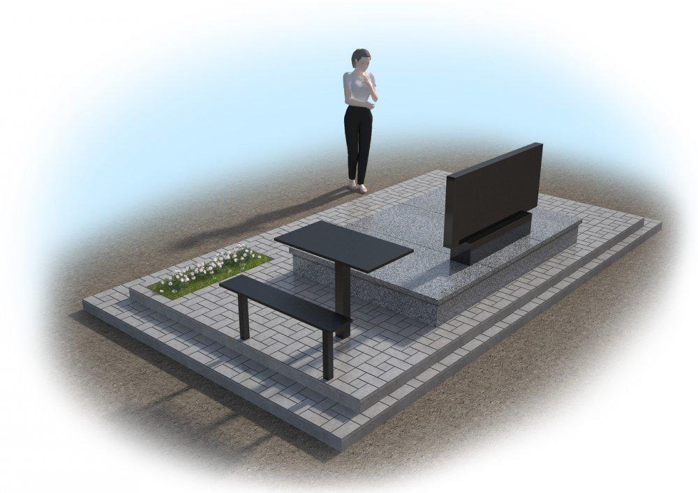 Заказать Создание 3D макетов памятников 3