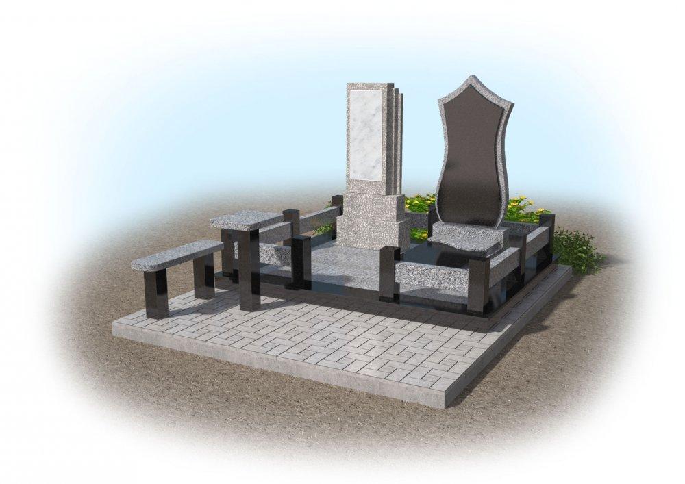 Заказать Создание 3D макетов памятников 6