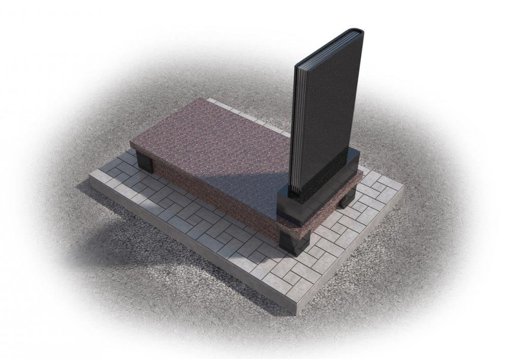 Заказать Создание 3D макетов памятников 7