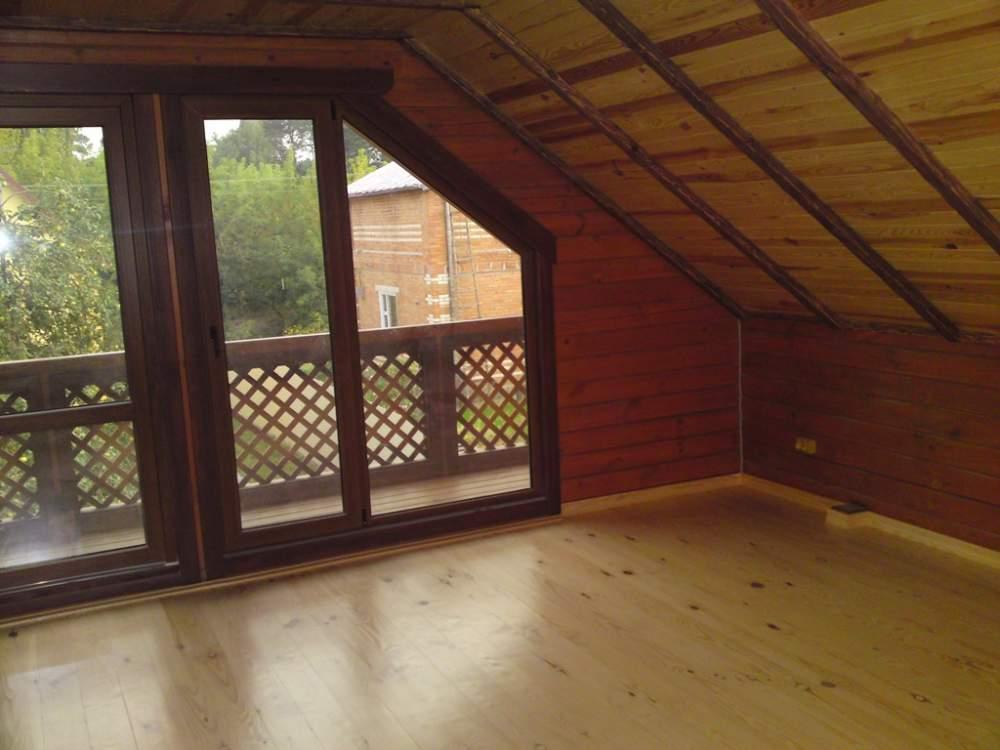 Заказать Строительство мансард в деревянном доме