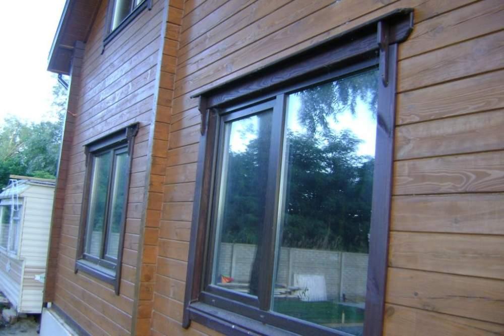 Заказать Монтаж окон в деревянных домах