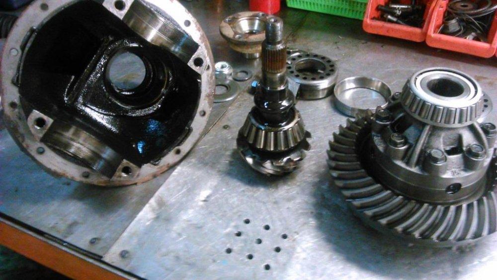Капитальный ремонт агрегатов автомобилей MAN