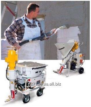 Заказать Машинная штукатурка стен – короткие сроки, качество высокое!