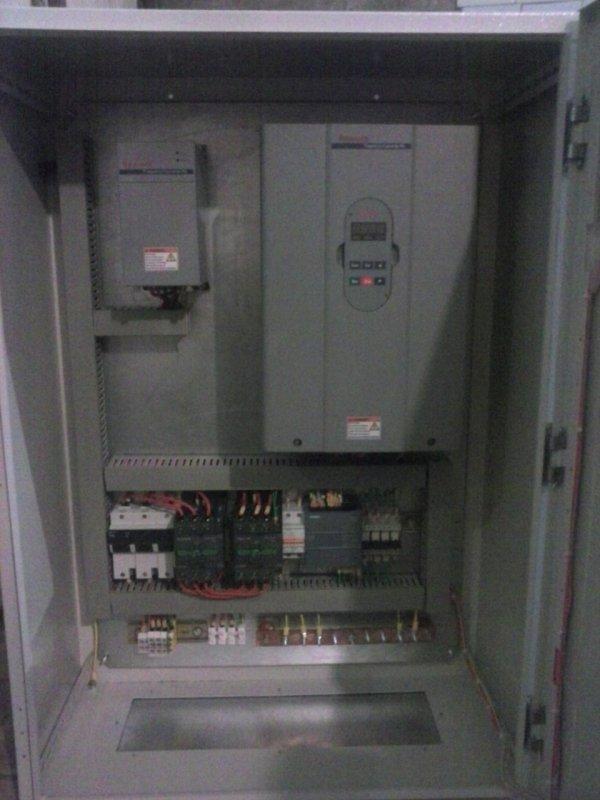 Частотное управление работой насосных агрегатов