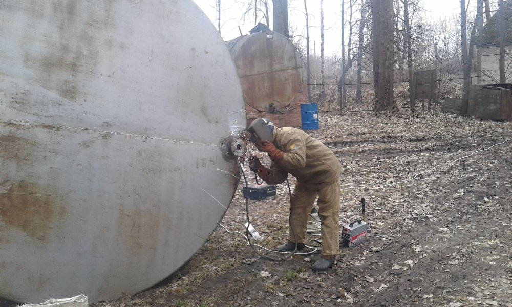 Заказать Ремонт Резервуаров