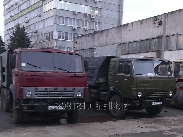 Заказать Услуги самосвалов Камаз 10-12 тонн