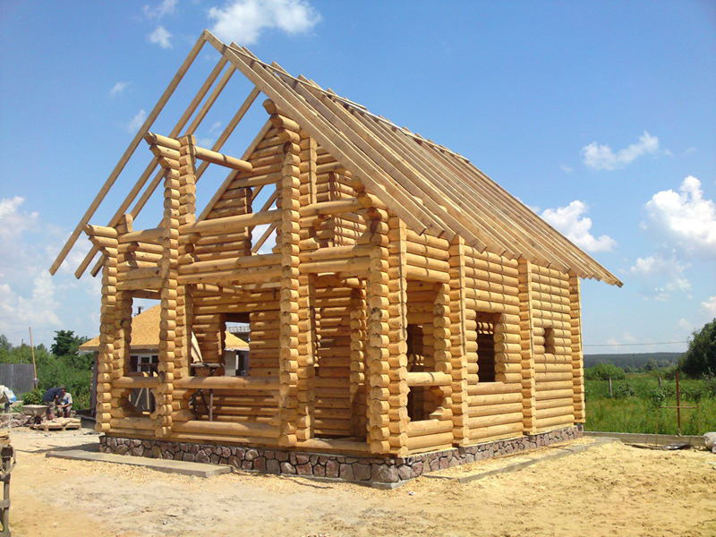 Заказать Изготовление деревянных домов