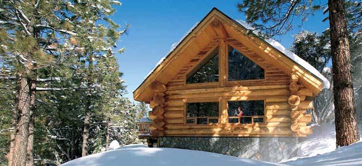 خدمات بناء المنازل السكنية من المواد الخشبية