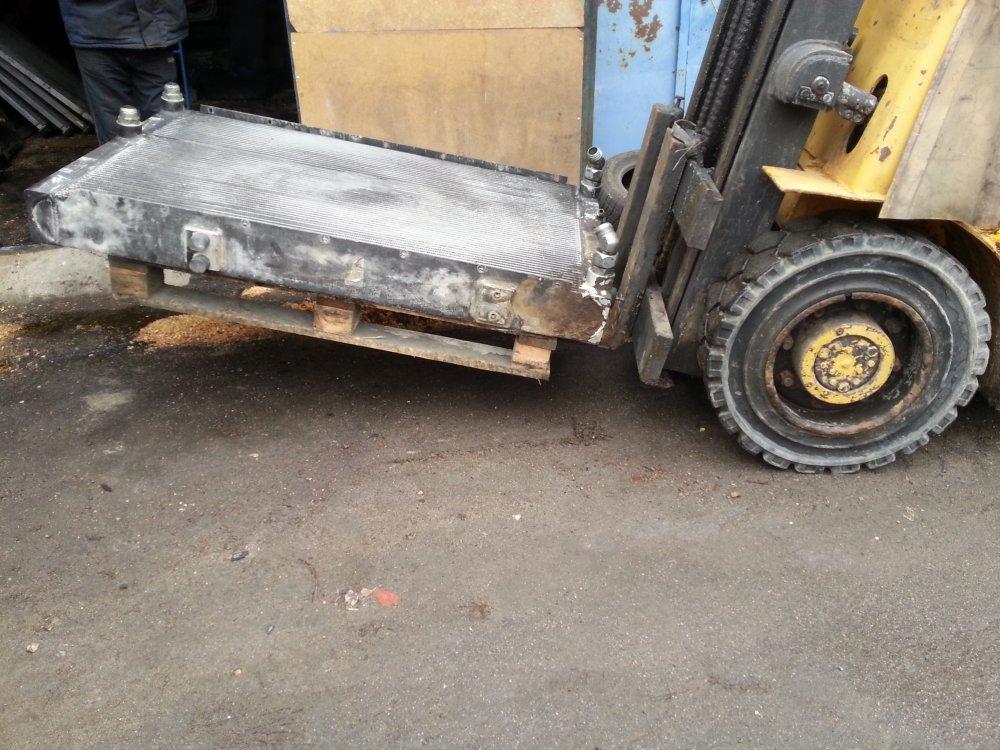 Заказать Volvo ремонт авторадіатор, інтеркулера, теплообмінників