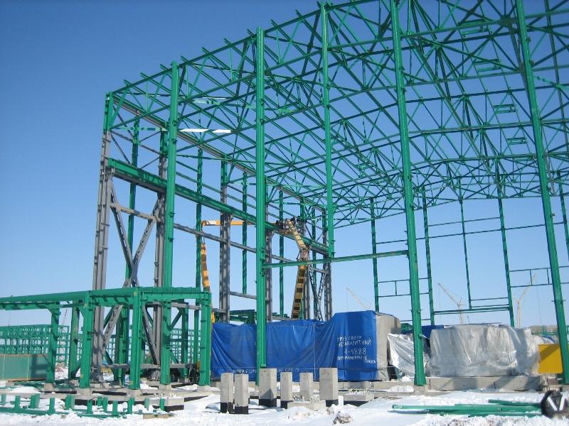 Заказать Горячее цинкование Строительных конструкций каркасов зданий с повышенной влажностью