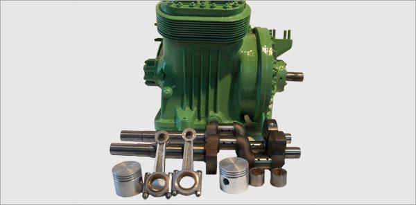Заказать Капитальный ремонт компрессоров типа М5 вагонных кондиционеров МАБ-II