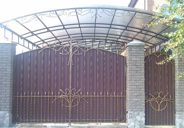 Заказать Изготовление кованых ворот под заказ