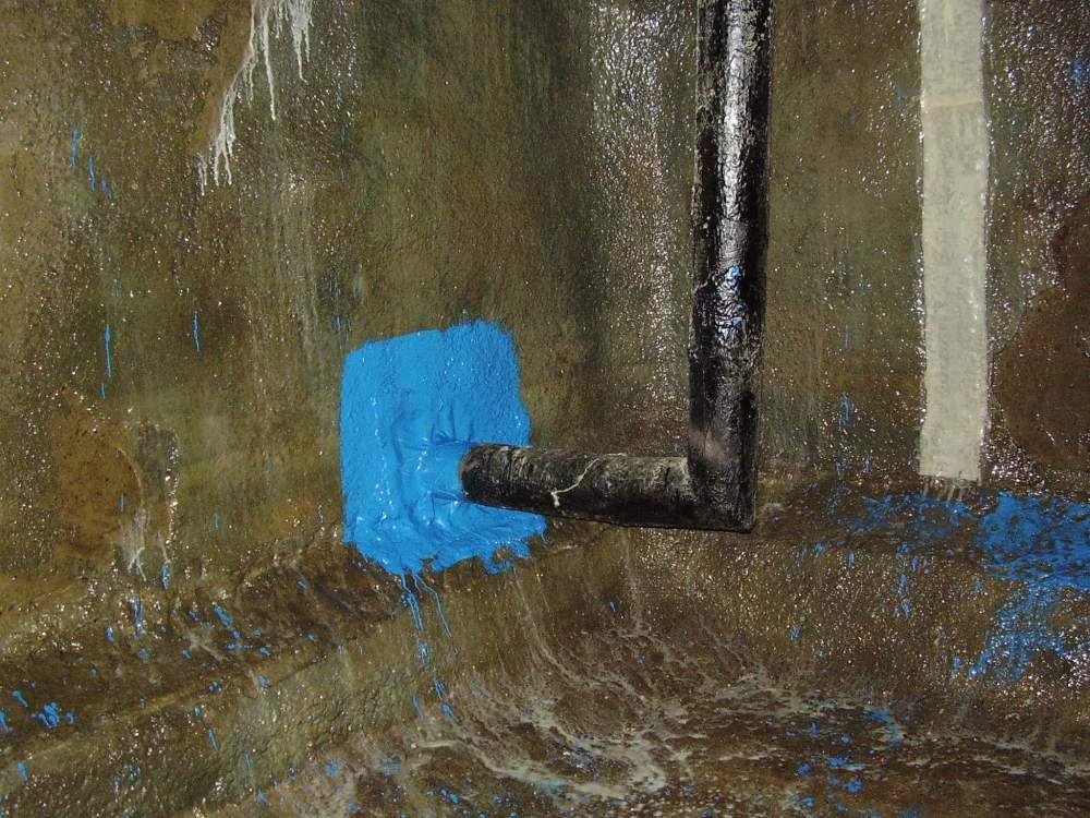 Заказать Установка компенсатора стык метал бетон