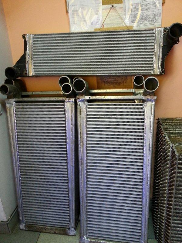 Заказать CLARK Професійний ремонт радіаторів, інтеркулерів.