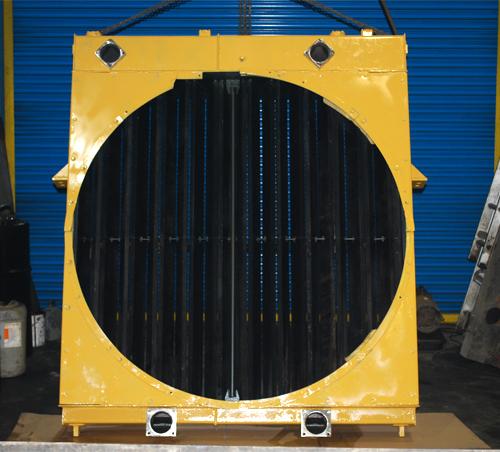 Заказать Ремонт радиатора / изготовление / радиатор охлаждения для JUNGHEINRICH