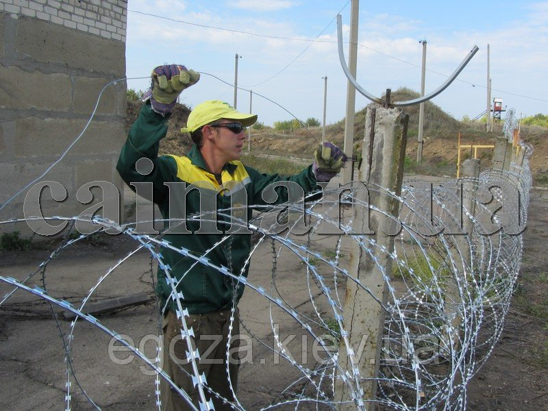 Installing of fences