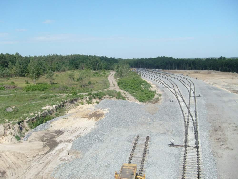 Заказать Строительство железнодорожных путей