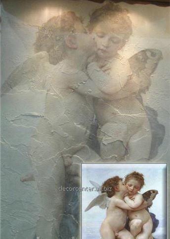 Заказать Художественная роспись стен Марсельский воск