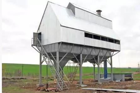 Реконструкция зерновых комплексов (ЗАВ)