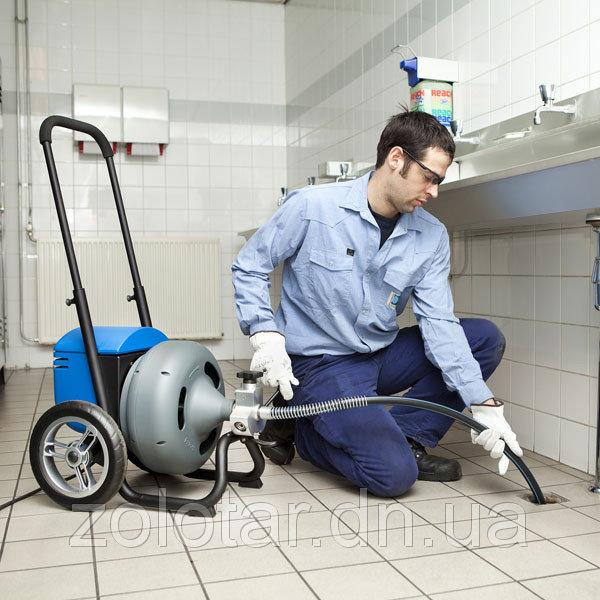 Заказать Прочистка канализации электро-механическим методом