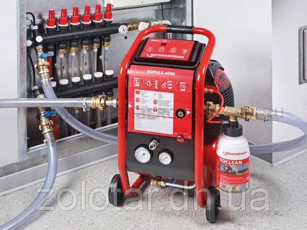 Заказать Прочистка и промывка систем отопления