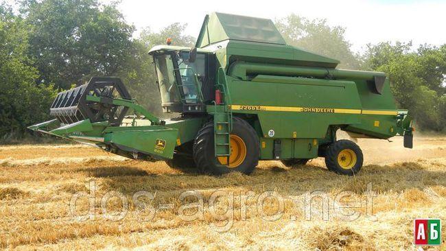 Заказать Предоставляем услуги по уборке зерновых и бобовых комбайном Джондир