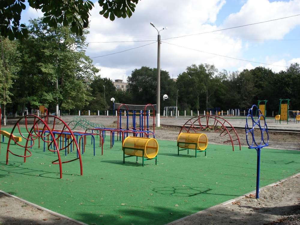 Заказать Строительство и комплектация тренажерных комплексов и детских площадок