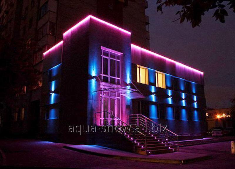 Заказать Архитектурная светодиодная подсветка