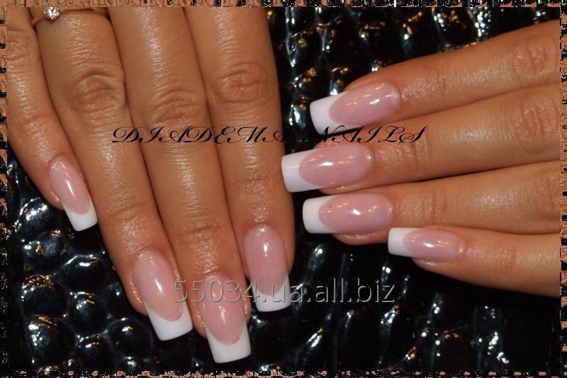 Wedding Nail Extension In Kiev Acryle Gel Shulyavskaya Polytechnical Nivki