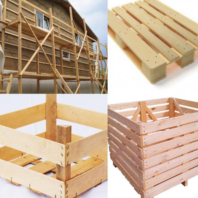 Заказать Изготовление тары, ящиков, контейнеров из дерева, деревянных поддонов, строительных лесов в Запорожье