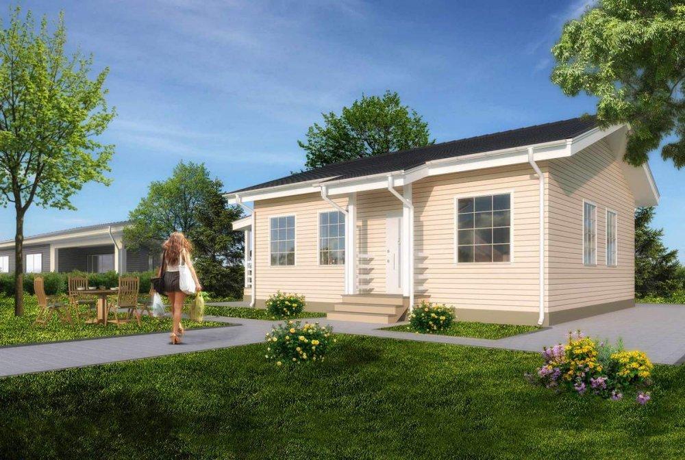 Заказать Строительство блочных домов, дома каркасные под ключ