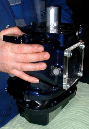 Ремонт винтового блока серии B (100,101,160) Rotorcomp