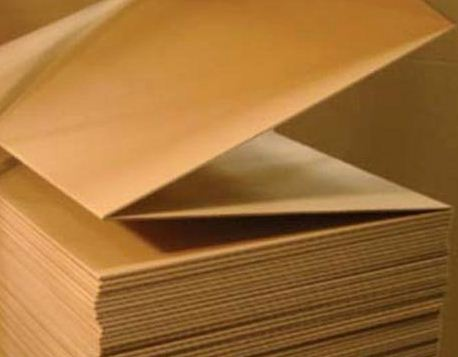 Production of a corrugated cardboard