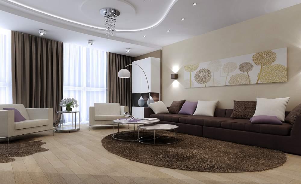 Заказать Услуги по дизайну интерьера гостиной